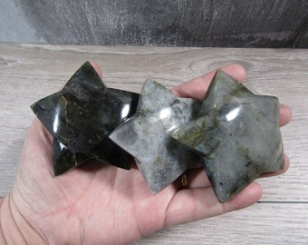 Labradorite Large Star M194