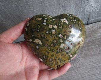 Ocean Jasper 15.0 oz Heart #0305 cc