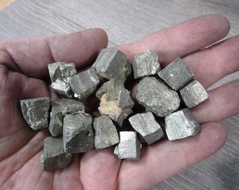Pyrite Cubic Stone Medium U92