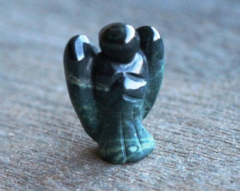 Kambaba Jasper Stone Angel Figurine F100