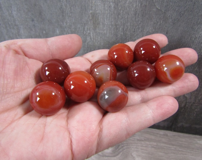 Featured listing image: Carnelian Sphere 20 mm S66