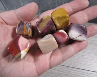 Mookaite Jasper Small / Medium Tumbled Stones TT497