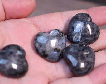 Lavarkite Stone Shaped Heart K370