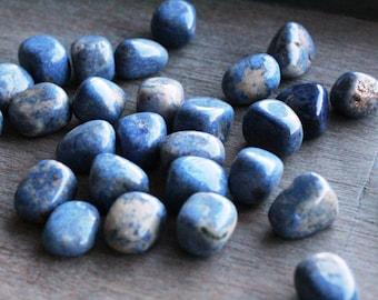 Dumortierite Medium Tumbled Stones T64