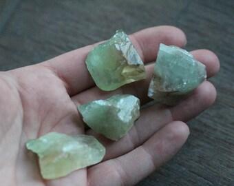Green Calcite Chunk U6