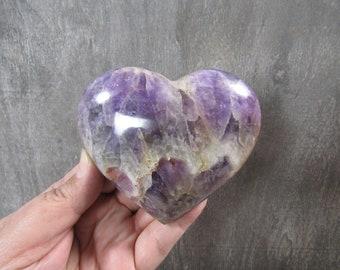 Banded Amethyst Heart 12.2 oz 8622 cc