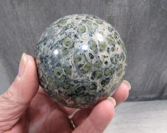 Kambaba Jasper Sphere 72 mm and 1 Lb 3.1 oz #7034cc