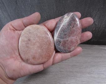Pink Lepidolite Large Flat Disk E 113