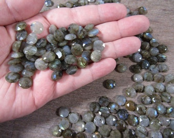 Labradorite Small Faceted Round J141