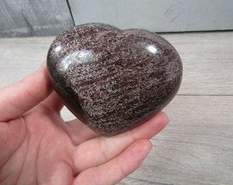 Garnet Heart Large 13.6 ounces #4167 cc