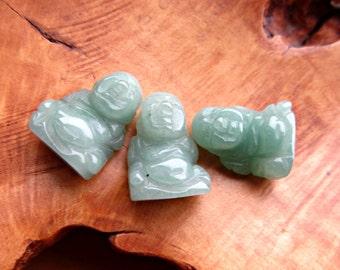 Aventurine Stone Buddha Figurine F129
