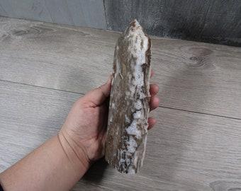 Quartz Druze Obelisk 1 lb 14.1 oz  ounce #7981 cc