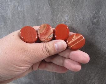 Red Jasper Small Flat Disk J127