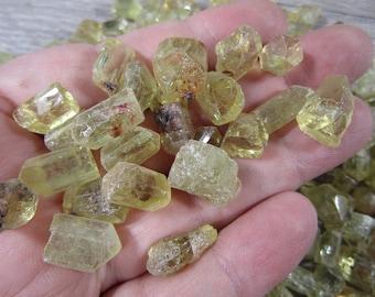 Golden Apatite Crystal R36