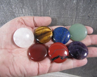 Chakra Stone Round Disk Set M233