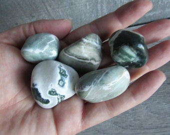 Green Sardonyx Large Tumbled Stone T71