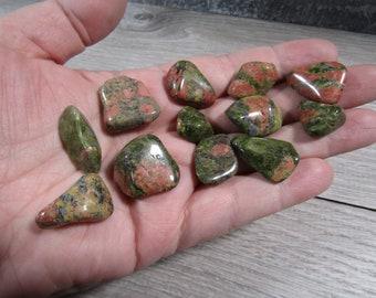 Unakite Small / Medium Tumbled Stone T483