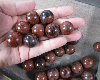 Mahogany Obsidian Sphere 22 mm S5
