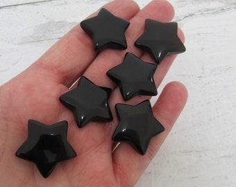 Obsidian Gemstone Star K145