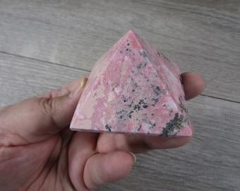 Rhodonite Pyramid 5.7 oz #8857 cc
