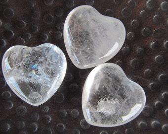 Clear Quartz Heart K166