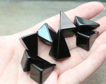 Obsidian Small Tall Pyramid M96