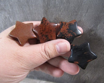Mahogany Gemstone Star K289
