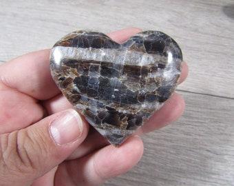 Aragonite Large Heart K408