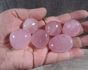 Starlight Rose Quartz Medium / Large  T236