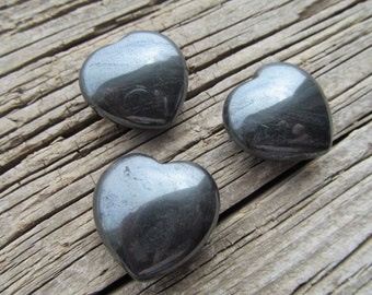 Hématite en forme de coeur #H19
