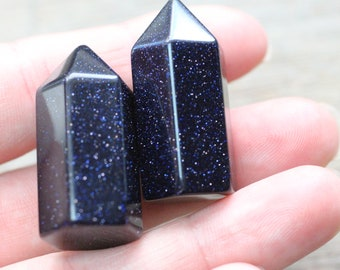 Blue Goldstone Obelisk Calibrated M14