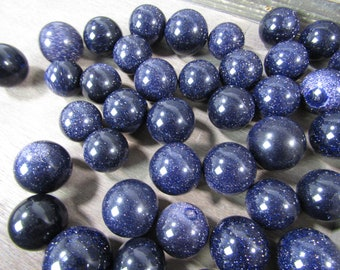 Blue Goldstone Sphere 25 to 30 mm S86