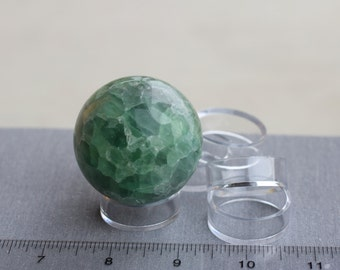 "Sphere Medium Plastic Stand for 40-80mm 3"" Sphere Display Q22"