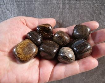 Bronzite Tumbled Stone T521