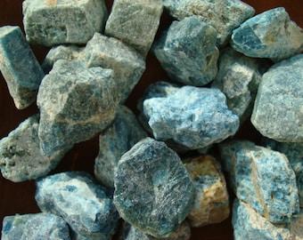 Blue Apatite Chunks U14