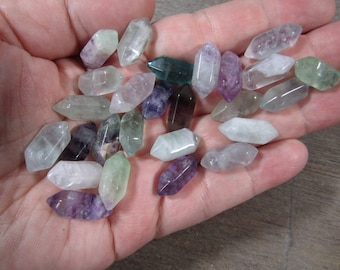 Fluorite Small Double Terminated Carved Point M2