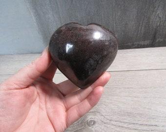 Garnet Heart Large 14.4 ounces #6512 cc
