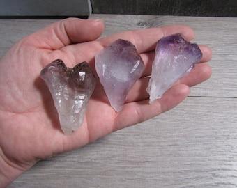 Amethyst Large Raw Crystal Point U49