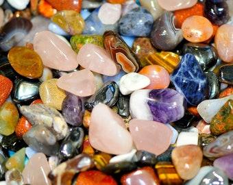 Premium One Pound Small Tumbled Stones Q17