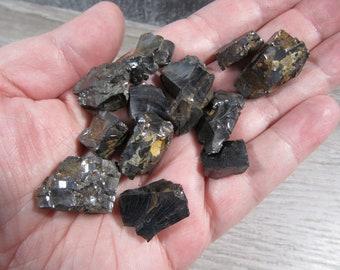 Shungite Silver Elite Rough Stone Chunk U 105