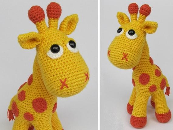 Giraffe Neli Amigurumi Haken Patroon Pdf E Boek Gevuld Etsy