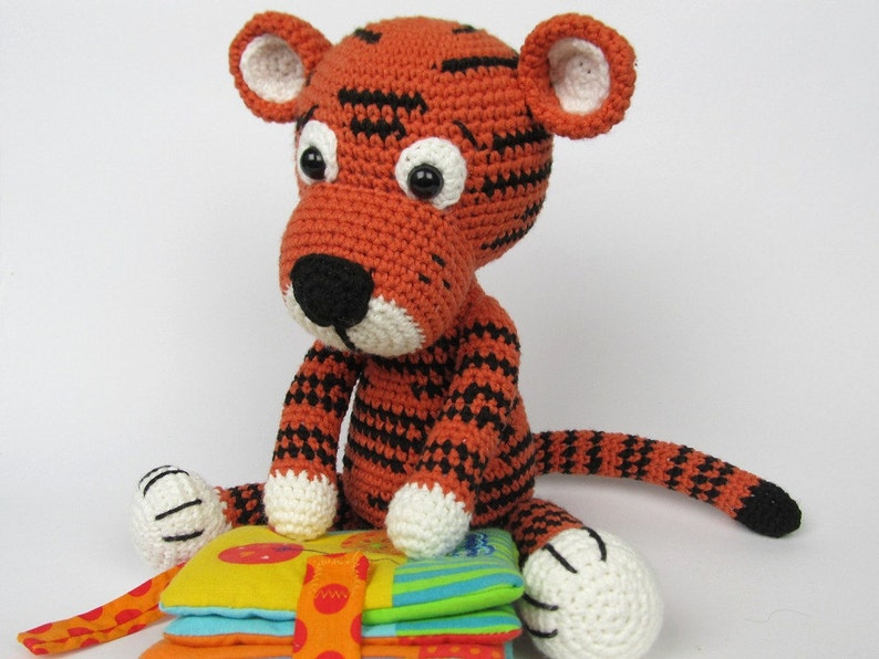 Little Tiger Tomy  Amigurumi Crochet Pattern / E-Book / image 0