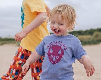 Dinosaur Baby T-shirt 'Niceratops'