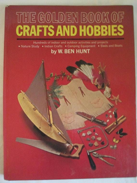 the golden book of crafts nd hobbies hardbound etsy