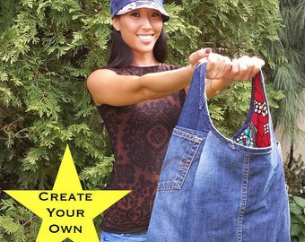 Turn Your Jeans into a Demin Tote Bag!