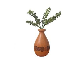 Wood Inlay Vase
