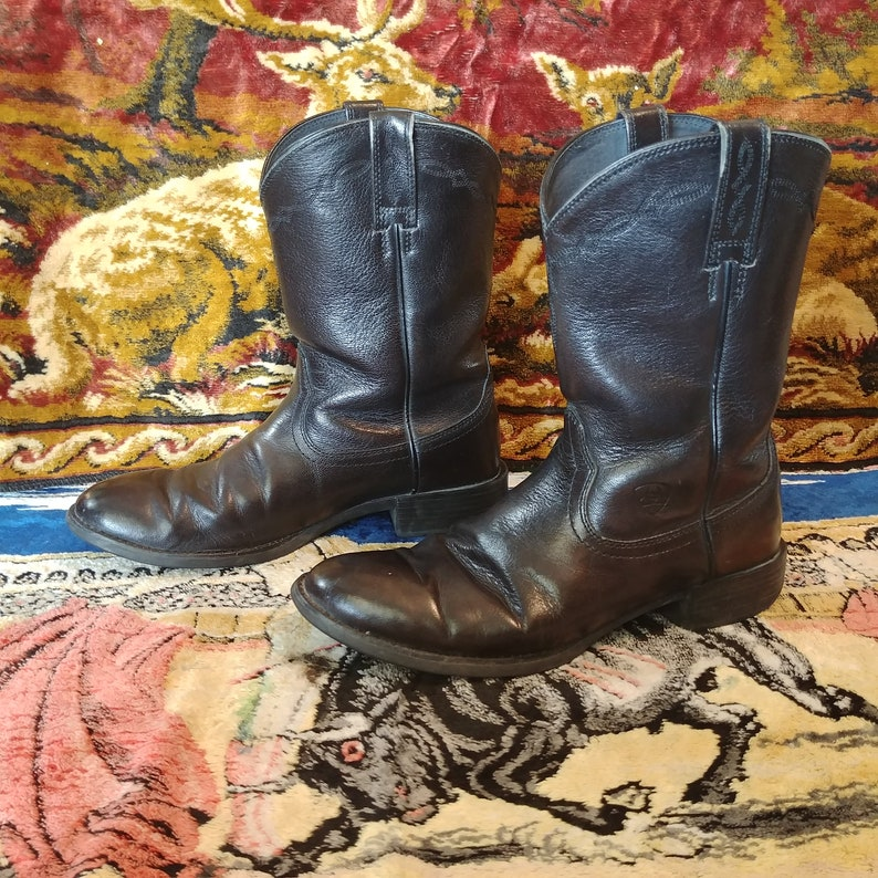 458a1d1e3e7 Ariat Heritage Black Western Workwear Cowboy Boots. Men's (US) 9D