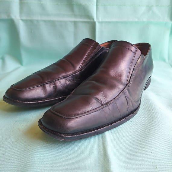 Mercanti Fiorentini Black Leather Slip