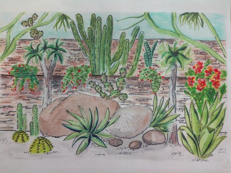 Desert Botanical Garden - Fabric Panel - 8