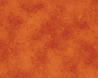 Terracotta Burnt Orange Blender Fabric - Rapture - QT Fabrics - (27935-TC Terracotta) - Half Yard